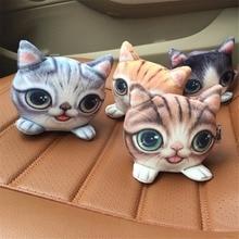 Car Air Freshener Bamboo Charcoal 3D Cat