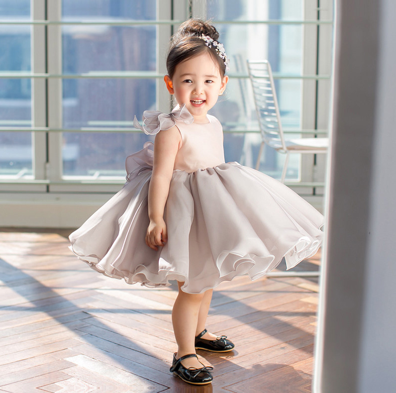 2018 spring baby girl dresses frocks prom ball gown cosplay costume girl clothes princess party children clothing flower girls