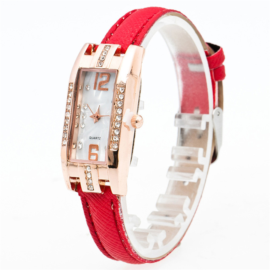 OTOKY reloj Quarz Damenuhr Mode Diamanten Kleid Damen Lässig - Damenuhren - Foto 3