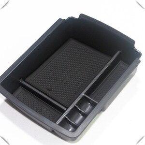 Для VW 13-17 Golf 7 / 17-18 Golf Sportsvan левый привод Черный центральный подлокотник держатель для перчаточного ящика лоток