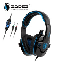SADES GPOWER Gaming Headset headphones Stereo Sound 3.5mm Ultralight For PC/PS4