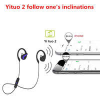 HOT Sports Bluetooth 4.1 Earphones Ear Hooks Stereo Music Play Handfree Earbuds Headsets BUS66