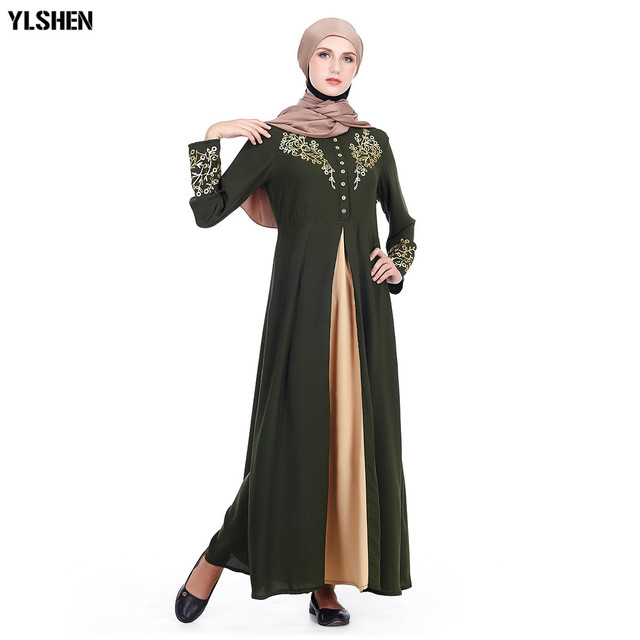 Plus Size Muslim Abaya Dubai Women Maxi Dresses Ramadan Moslim Prayer Robe Hijab Dress Kaftan Islamic Turkey Islamic Clothing 1