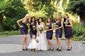 2015 Sexy One Shoulder Sheath Party Dresses Mini Short Purple Satin Bridesmaid Dresses