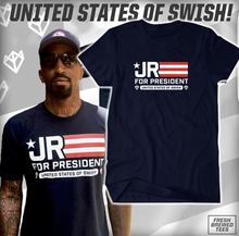 JR Smith t-shirt male female men s jersey JR for President short sleeve tee