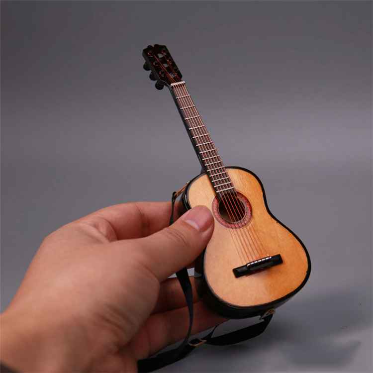 1/6 Scale Accessories Folk Guitar Model Musical Ornaments Collection for 12 inches Action Figures BJD Dolls цена и фото