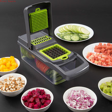 useful new Kitchen Cutting Vegetable Shredding block Multi functional Potato shredder slicer Machine accessories food chopper цена и фото
