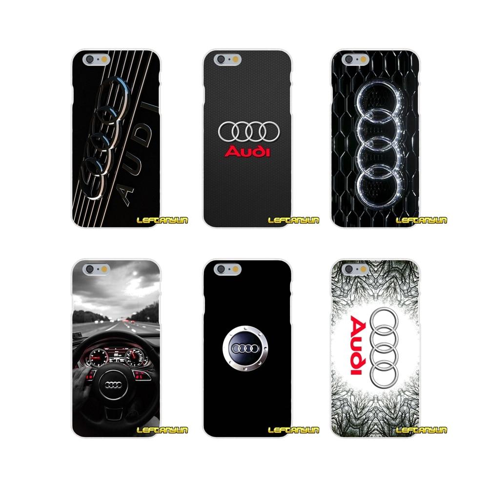 For Motorola Moto G LG Spirit G2 G3 Mini G4 G5 K4 K7 K8 K10 V10 V20 Audi RS Logo Silicone Soft Phone Case
