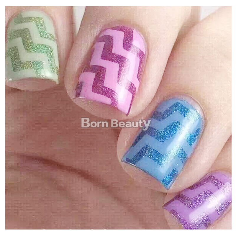 1pcs Hot Wave Shape Nail Striping Tape Line Stickers Diy Art Design Decorations In Decals From Beauty Health On Aliexpress Alibaba
