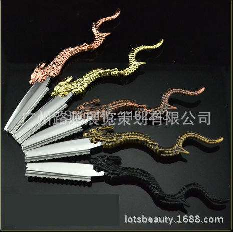 Classic Luxury Design Dragon Shape Hair razor, hair cutting razor Made with Best Quality, 6 color shaving razor for sale