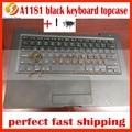 95% nueva negro a1181 topcase teclado para macbook 13 ''a1181 con touchpad trackpad cubierta superior 2006 2007 2008 2009 año