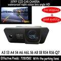 Sony Sensor de HD Del Coche Del RearView Reverso Parking Cámara de 170 grados de Ángulo Ancho para AUDI A3 S3 A4 S4 A6 A6L Q7 RS4 RS6 S6 A8 S8