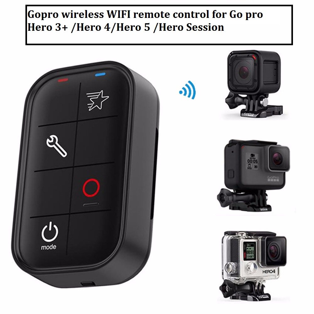Wireless Wifi Remote Control for GoPro HERO 5 Session 4 3+ (5)