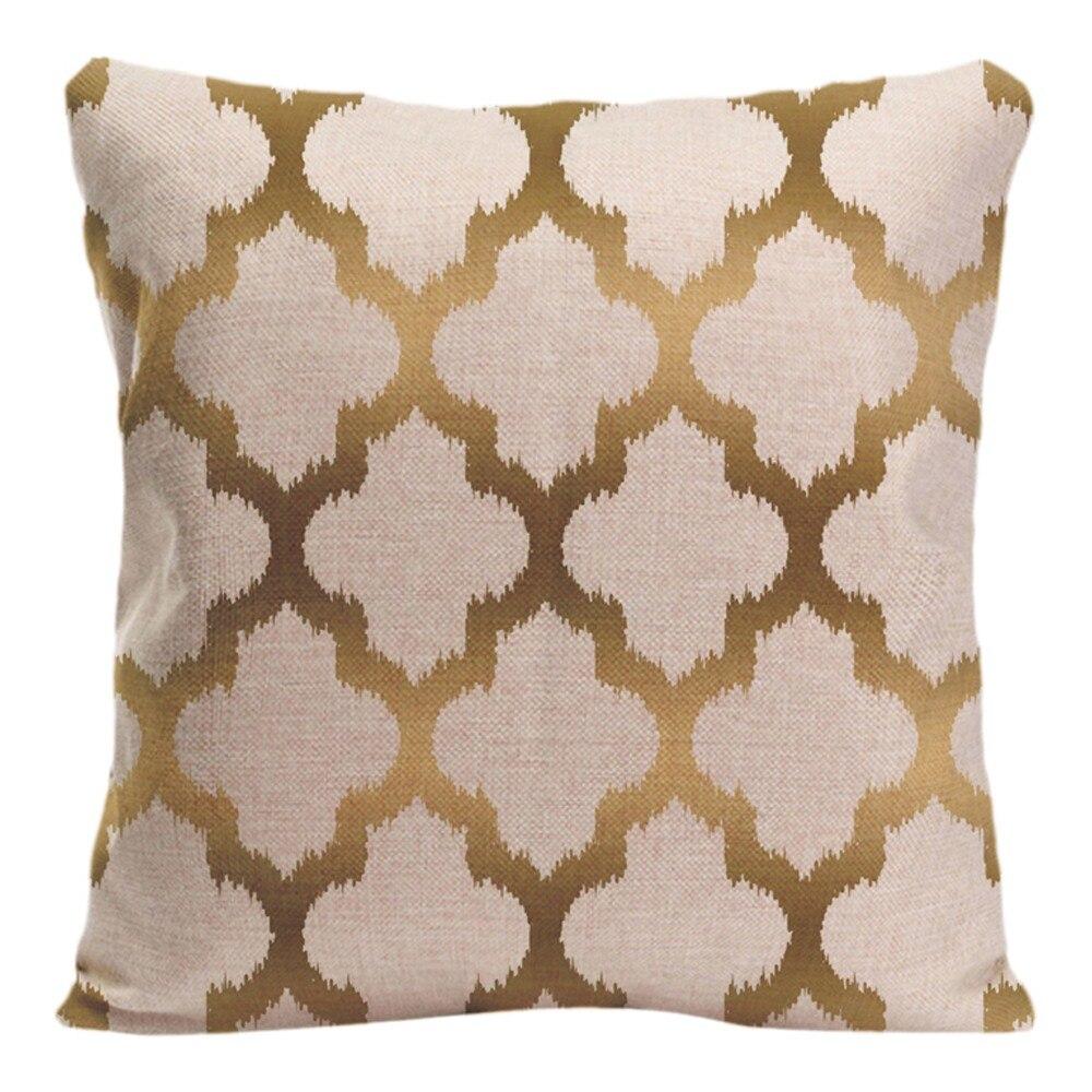 4pcs unique decorative pillows cushion covers moroccan geometric US Seller