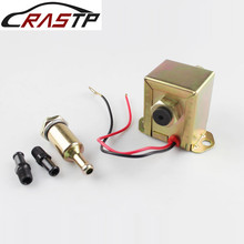 RASTP-1 Set Electric 12V Low Pressure Fecet Red Top Square Fuel Pump 40104 40106 40107 P502 for Ford Carburetor RS-FP018 free shipping high quality electronic fuel pump p502 12v fuel pump for carburetor ford