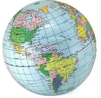 Free Shipping Classroom Inflatable Earth Globe World School - Earth globe map