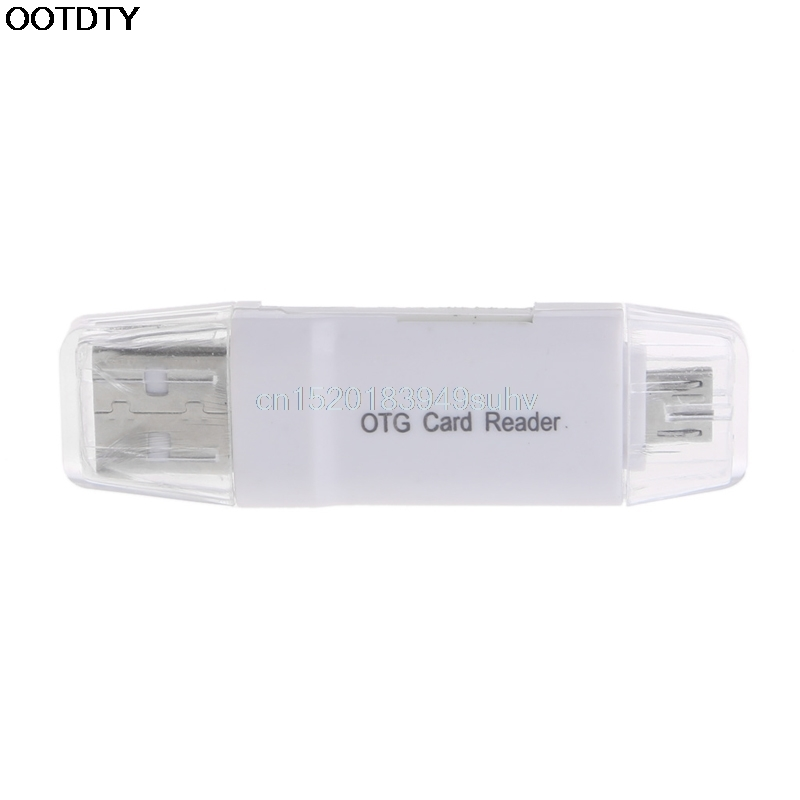 Micro USB OTG To USB 2.0 Adapter Micro SD Card Reader For Smart Phone Tablet