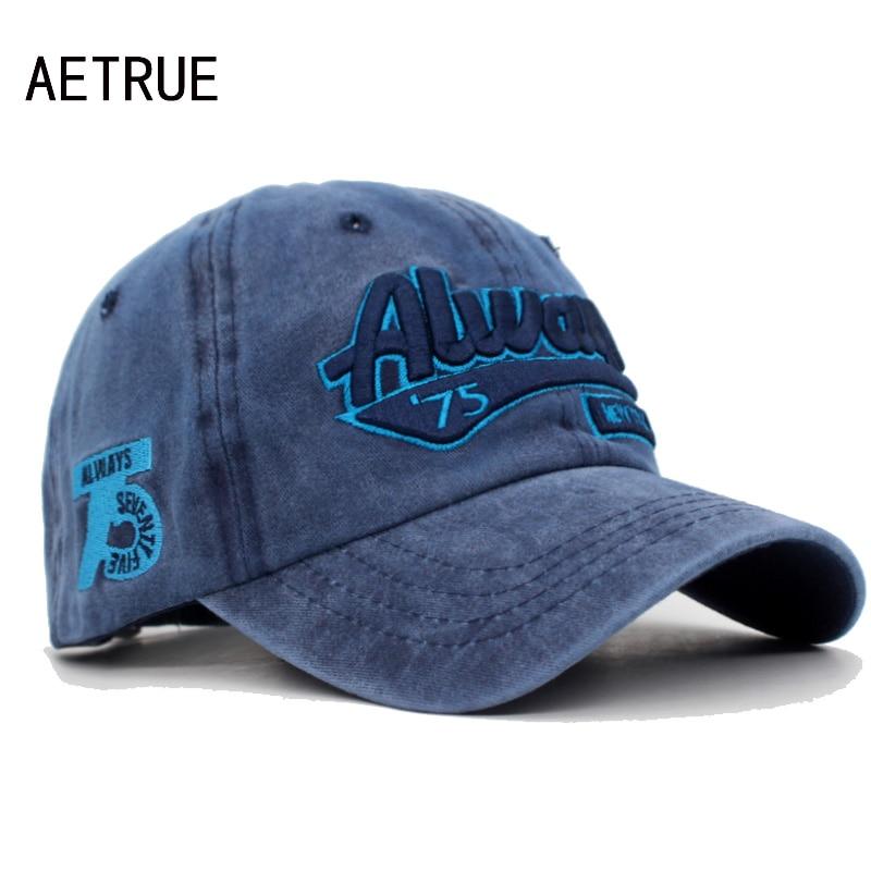 AETRUE Baseball Cap Men Dad Snapback Caps Women Brand Homme Hats For Men Bone Gorras Casquette Fashion Embroidery Cotton Cap Hat
