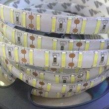 120led/M Double Chip SMD 8520 white led strip DC12V 5M 600LEDS flexible led tape rope bar indoor outdoor decoration light