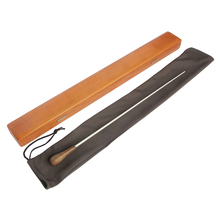 MoonEmbassy Wooden Handle Symphony Music Baton High-grade Music Concert Baton Rhythm Band Director Conductor with Carrying Box