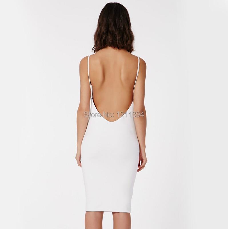 2015 XS XXL Women s Summer Dress Sexy Tight Slim Hip Racerback Suspender  Fashion Slim Basic Dress One piece Dress-in Dresses from Women s Clothing on  ... 9b979bd87167
