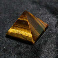 2015 tiger eye crystal quartz Engraved 40mm 1,5 inch Pyramid Carved Stone Chakra Stones Healing Reiki pendant Free shipping