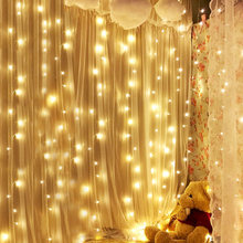 Thrisdar 3X1M 3X2M 3X3M 6X3M Christmas Icicle Curtain LED String Light Outdoor Garden Window Fairy String Light Holiday Garland(China)
