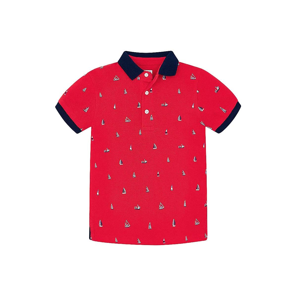 MAYORAL Polo Shirts 10685364 Children Clothing T-shirt Shirt The Print For Boys