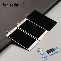 High Quality Tested Repair For Xiaomi Redmi 3 LCD Display And Touch Screen Digitizer Replacement Phone
