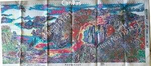 Image 4 - QIANZEHUI,Needlework,DIY Precision printing Landscape painting Cross stitch,rising sun Sets For Embroidery kits Cross Stitch