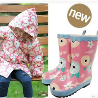 kids rain boots toddler rainboots baby boots girl Waterproof rubber shoes regenlaars kinderen boys non slippery rubber rainboot
