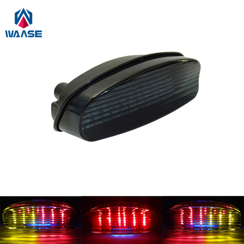 Superb Us 28 34 10 Off Waase For Suzuki Gs500 2001 2002 Gs500F 2004 2009 Chrome Rear Tail Light Brake Turn Signals Integrated Led Light In Covers Camellatalisay Diy Chair Ideas Camellatalisaycom