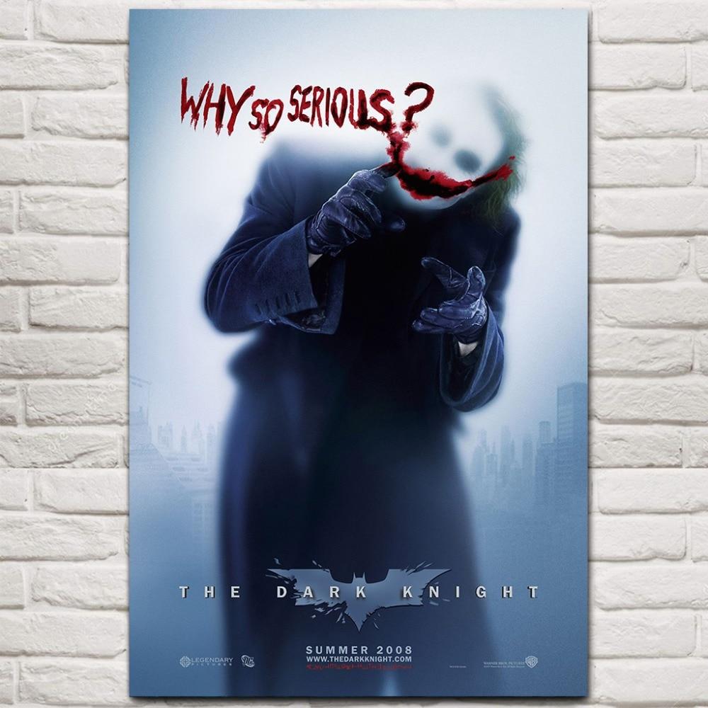 The Dark Knight Movie Art Silk Poster 12x18 24x36