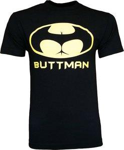 Buttman Для мужчин футболка-(черный)-2XL интересные фотографии футболка с принтом натуральный хлопок Для мужчин футболка короткий рукав Топ