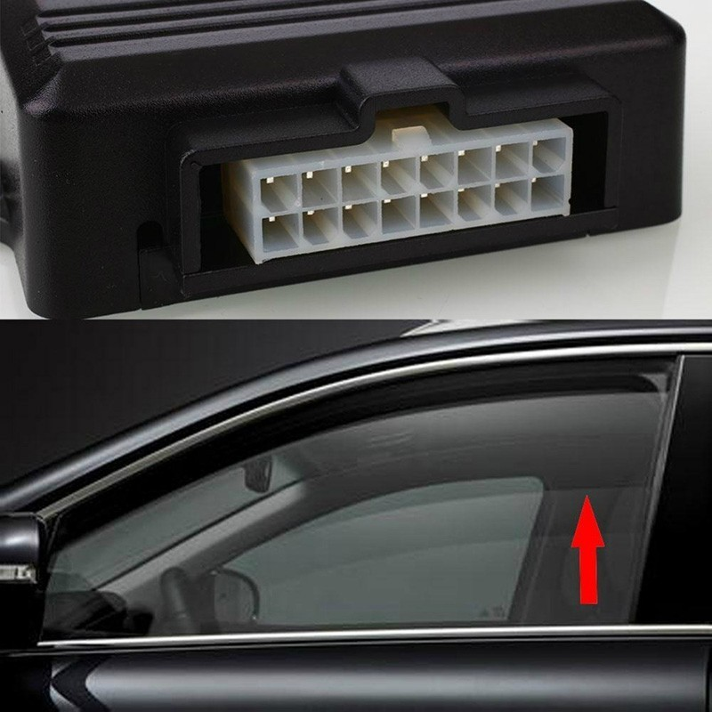 Image 5 - SPEEDWOW Universal Car Power Window Roll Up Closer For 4 Doors Auto Close Windows Remotely Close Windows Module Alarm System-in Intelligent Window Coser from Automobiles & Motorcycles