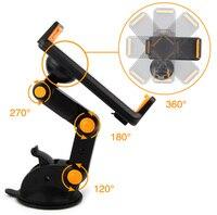 Zuig GPS Mobiele Telefoon Auto Houders Verstelbare Opvouwbare Mounts Stands Voor Meizu M5c  Blackview A8/BV6000/BV6000S R7/A8 Max/P2