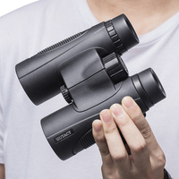 High Power Binoculars Monocular 10x42 Telescope Hunting Birdwatching Hiking Tool For Adults Kids BAK4 ROOF Prism HUTACT