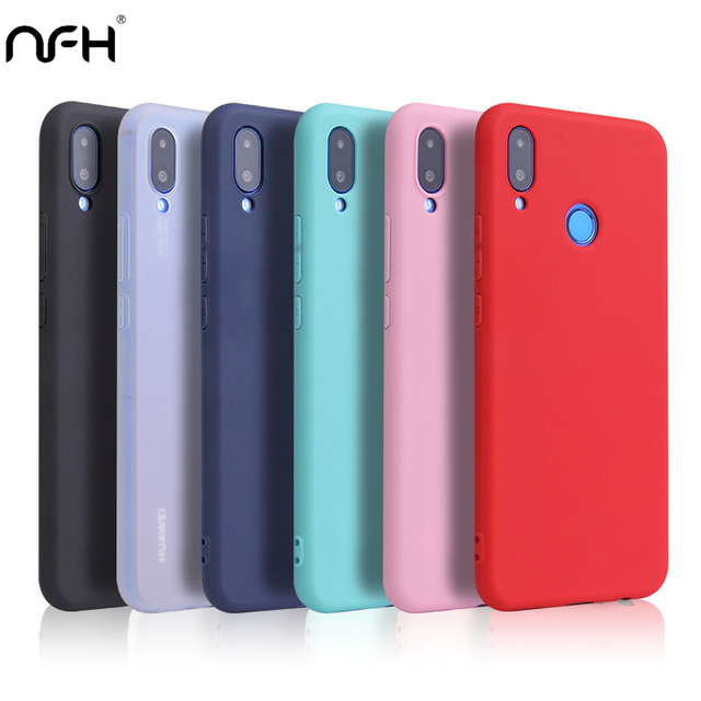 Soft Silicone Case For Huawei P30 P30 Lite P30pro TPU Case On For Huawei Y9 Prime Y5 Y6 Pro 2019 Nova 4E Nova 5I Honor 8 9 Cover