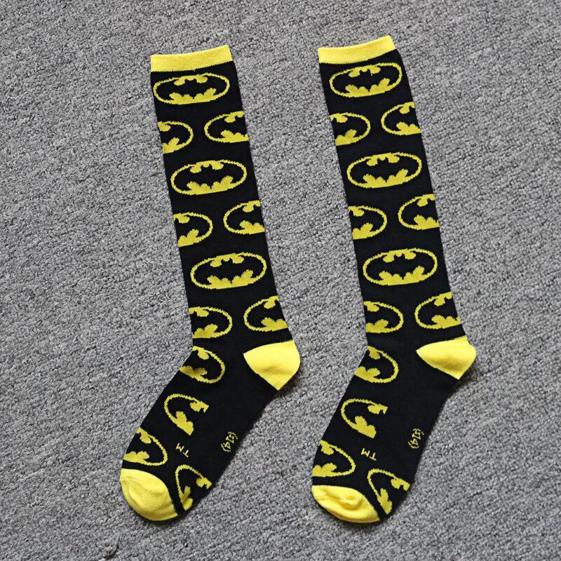 2018 New Batman Socks Male Ladies Cotton Socks Personalized Fashion And Knee Socks Four Seasons General Purpose