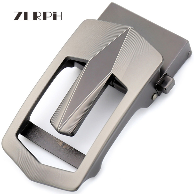 ZLRPH Famous Brand Belt Buckle Men Top Quality Luxury Belts Buckle For Men 3.5 Cm Strap Male Metal Automatic Buckle Cummerbund