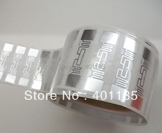 UHF RFID sticker Alien 9662 inlay 860-960MHZ Higgs3 915M EPC C1G2 ISO18000-6C 5000pcs per roll can be used to RFID tag and label