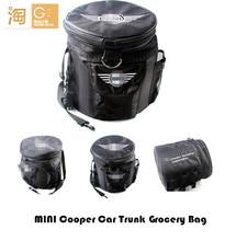 MINI cooper R55 R56 R60 R61 F55 F56 Car trunk organizer grocery bag storage box, waterproof Oxford Fabric
