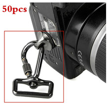 Accessories 50pcs DSLR camera hang buckle shoulder quick sling strap connecting adapter metal hook for camera video bag laptop