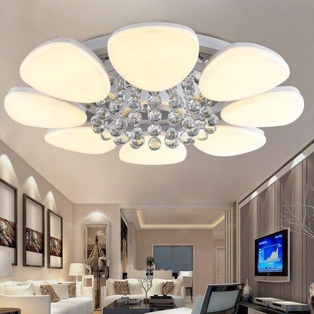 Wunderbar 2017 Neue Moderne Led Kristalldeckenleuchten Für Wohnzimmer Schlafzimmer  Beleuchtung Cristal Deckenleuchten Dekoration Luminaria