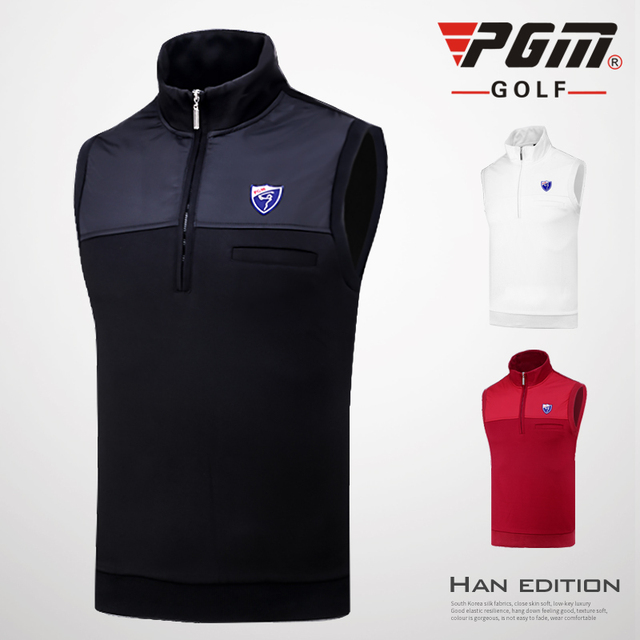 005aff1d6 2018 Pgm Golf Sport Fleece Vest Men Winter Warm Golf Sleeveless Jacket Vest  Men Windproof Waistcoat Golf Apparel D0513