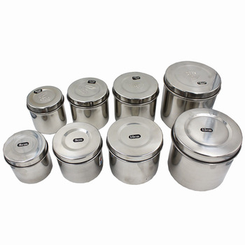 304 stainless steel cylinder ointments cotton tank disinfection alcohol / iodine
