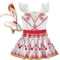 Girls Princess Ballet Dresses Kids Girl Cosplay Costume Clothing Children Elsa Anna Cinderella Sleeping Beauty Sofia