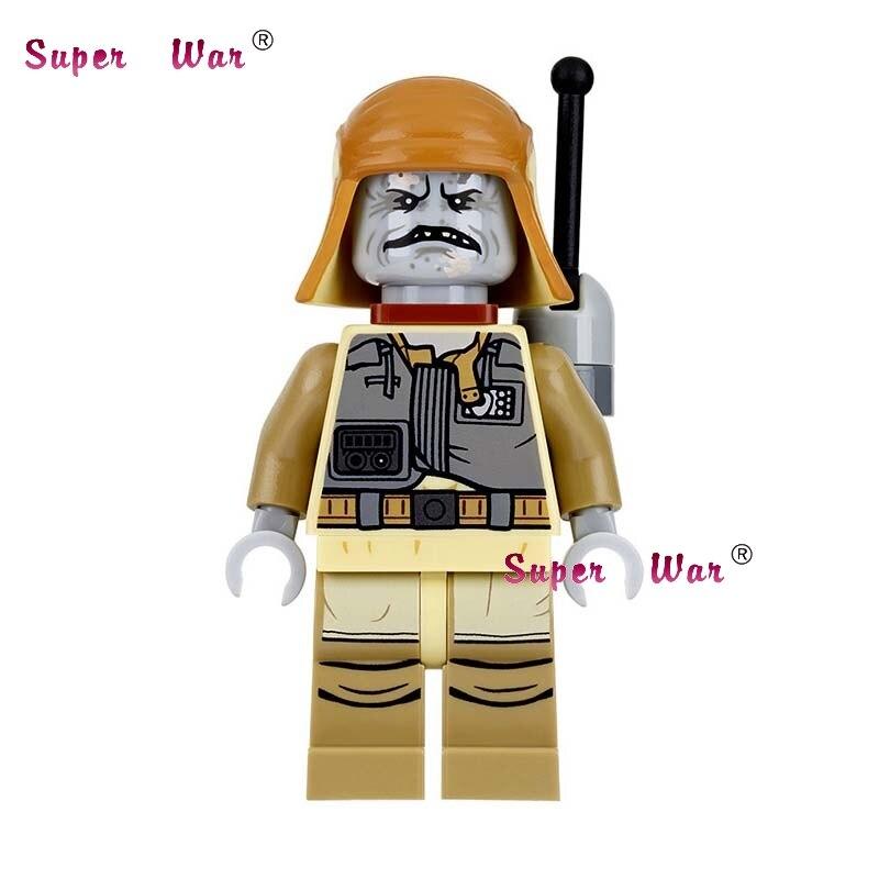 1PCS star wars super heroes PG734 Imperial Inquisitor Boba Fett building blocks models bricks toys for children kits