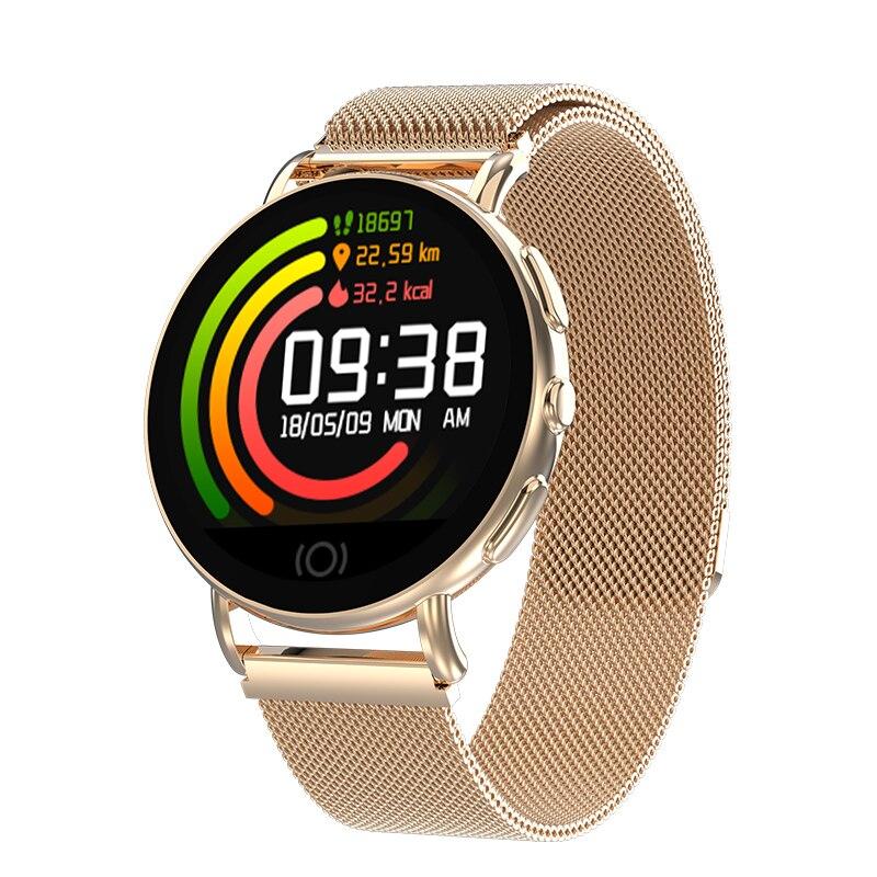 Herrenuhren Neue Smart Uhr Männer Frauen Herz Rate Monitor Blutdruck Fitness Tracker Smartwatch Edelstahl Uhr Für Ios Android Seien Sie In Geldangelegenheiten Schlau Digitale Uhren