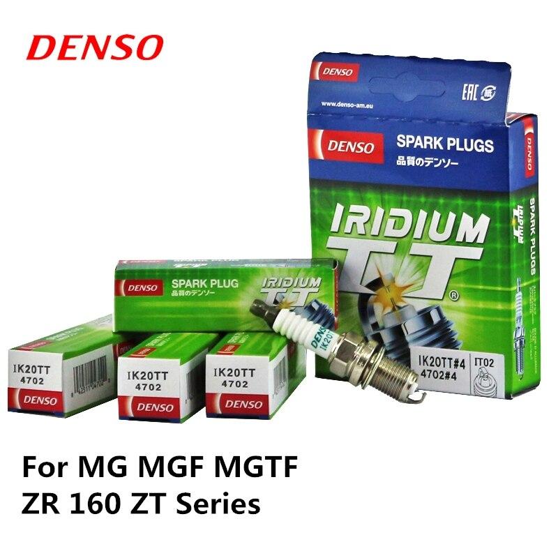 4pieces/set DENSO Car Spark Plug For MG MGF  MGTF ZR 160 ZT Series  Iridium Platinum IK20TT4pieces/set DENSO Car Spark Plug For MG MGF  MGTF ZR 160 ZT Series  Iridium Platinum IK20TT